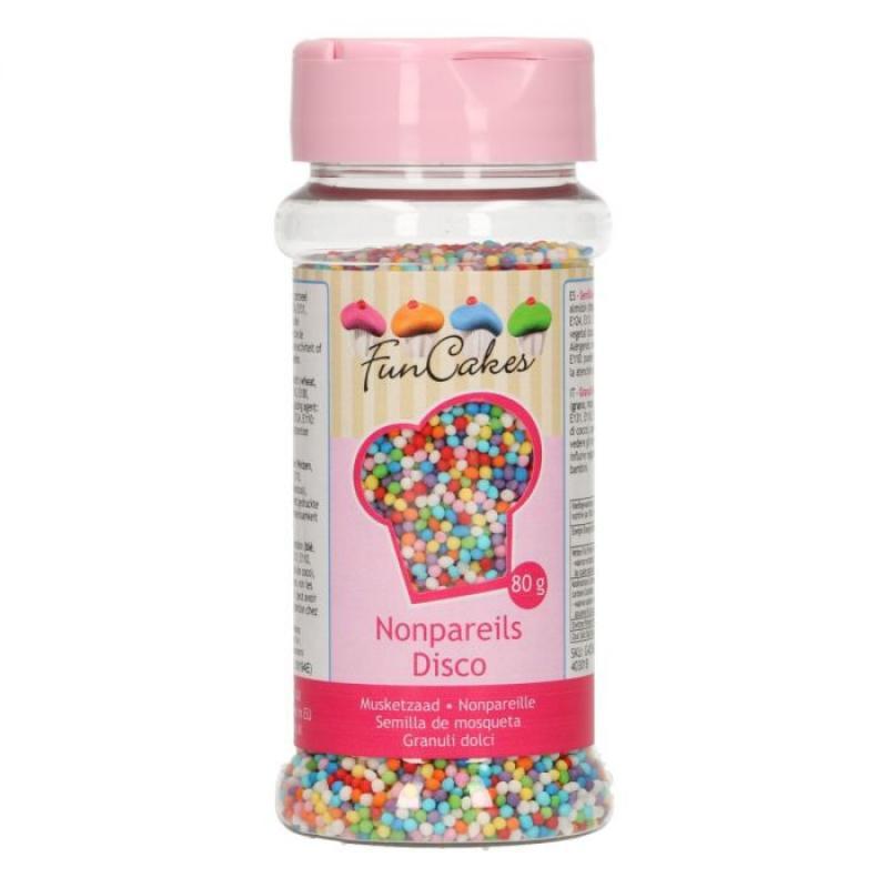 Zdobenie farebý disco mix mini perličky 80 g