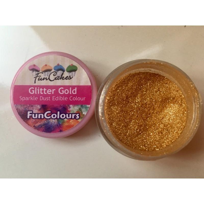 Prášková farba Glitter gold 2,5 g
