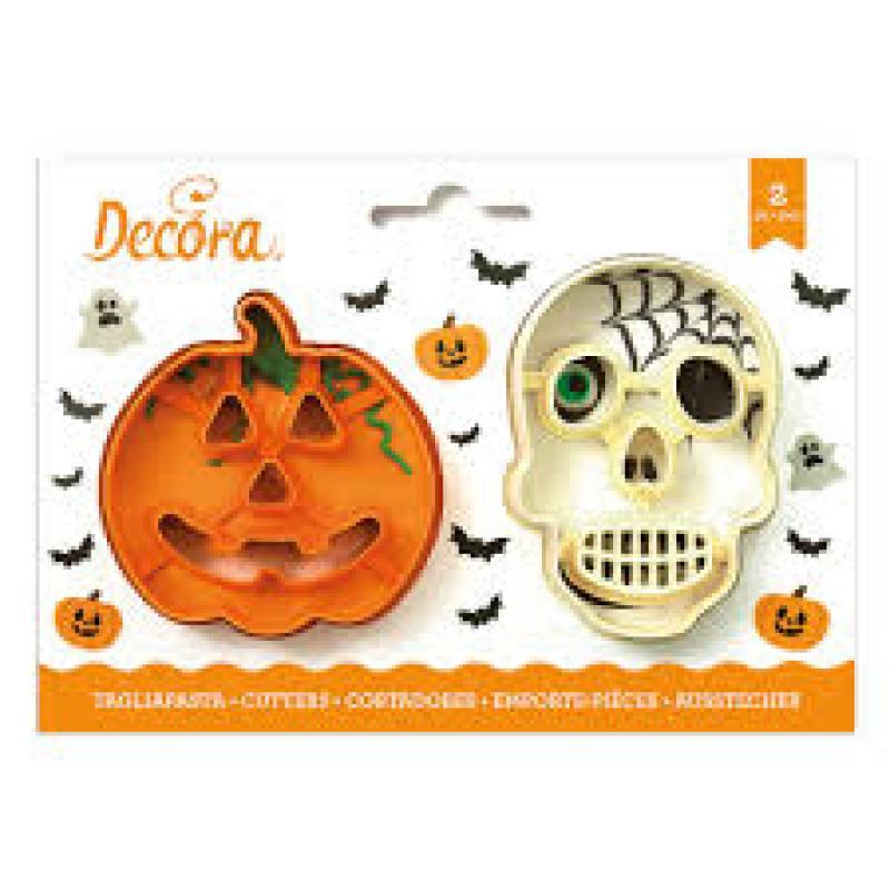 Sada 2 ks vykrajovačiek Halloween