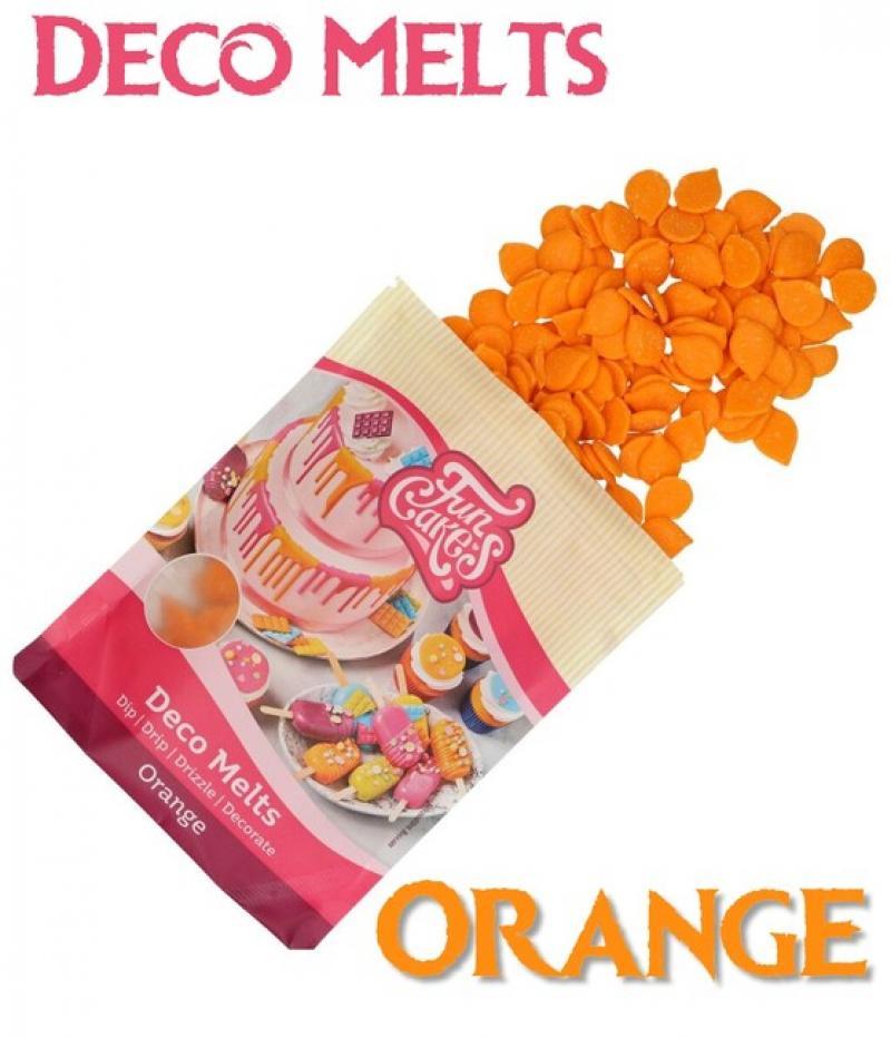 Deco Melts oranžová 250g