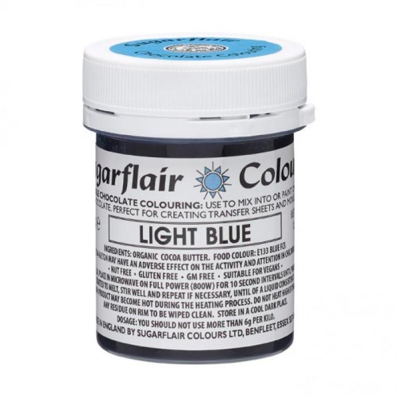 Farba do čokolády Light Blue sv.modrá 35g