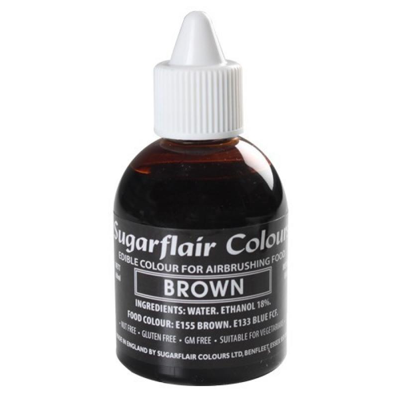 Tekutá farba do fixírky brown, hnedá 60 ml