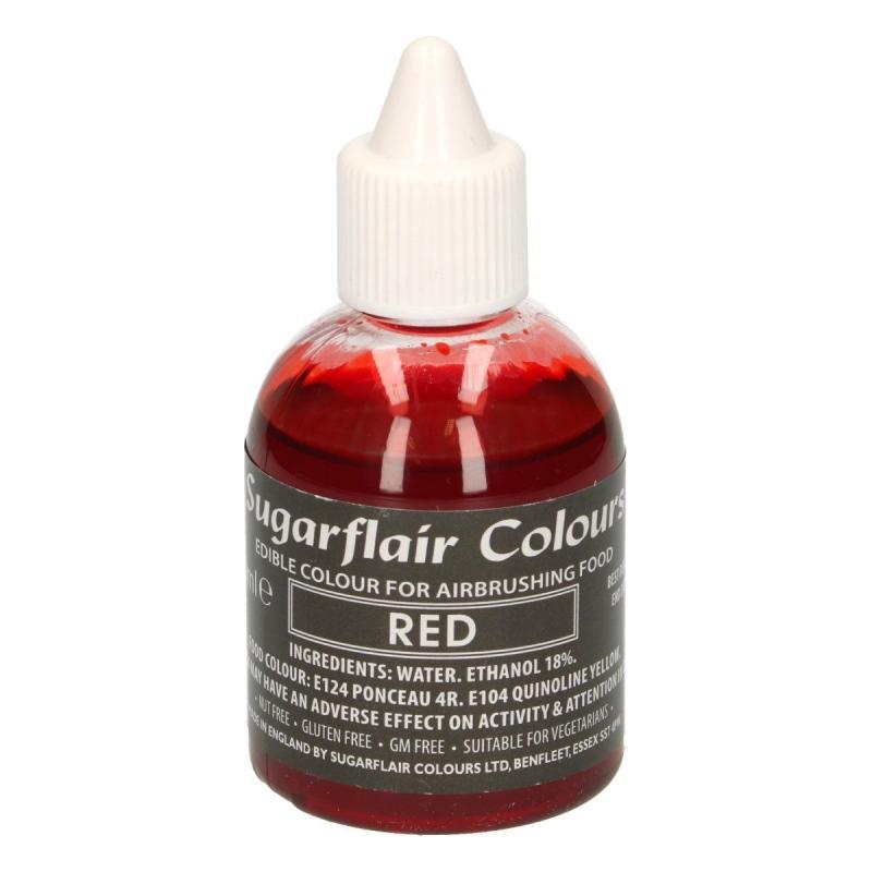 Tekutá farba do fixírky Red červená 60 ml
