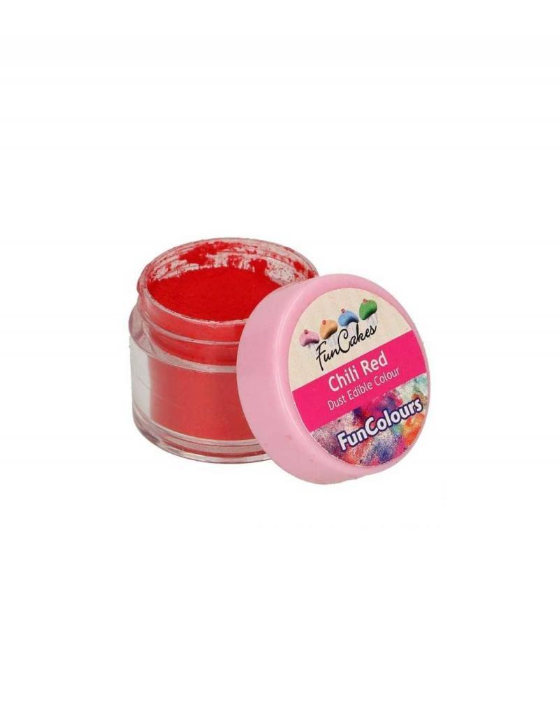 Prášková farbaChili red ostrá červená 1,5 g