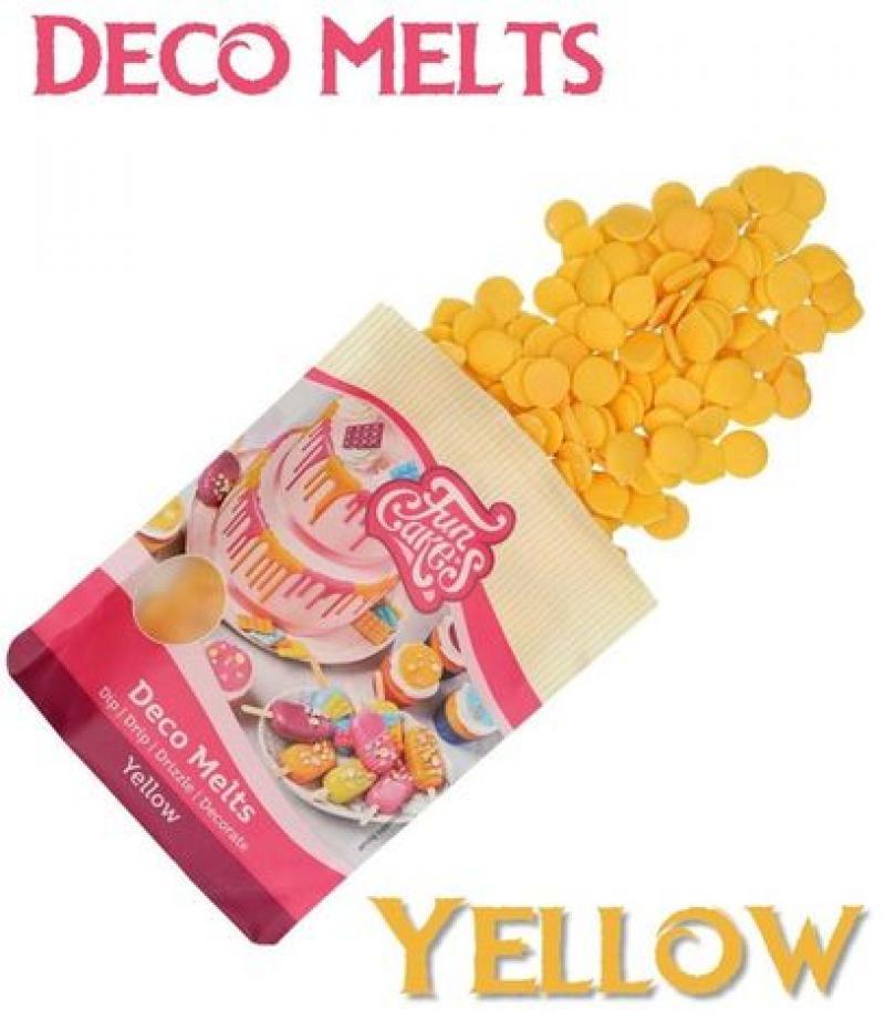 Deco Melts žltá 250g