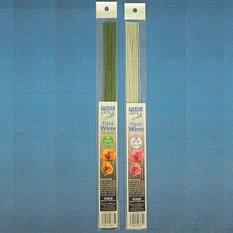 Floristické drôty zelené FW26