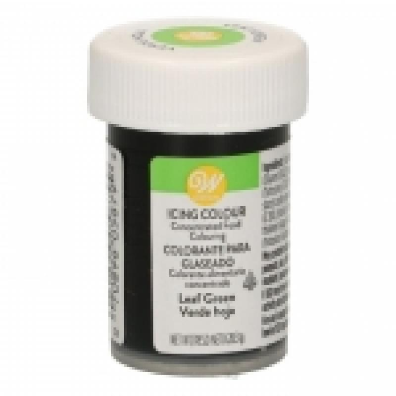 Gélová farba Wilton Leaf green listová zelená 28,3 g