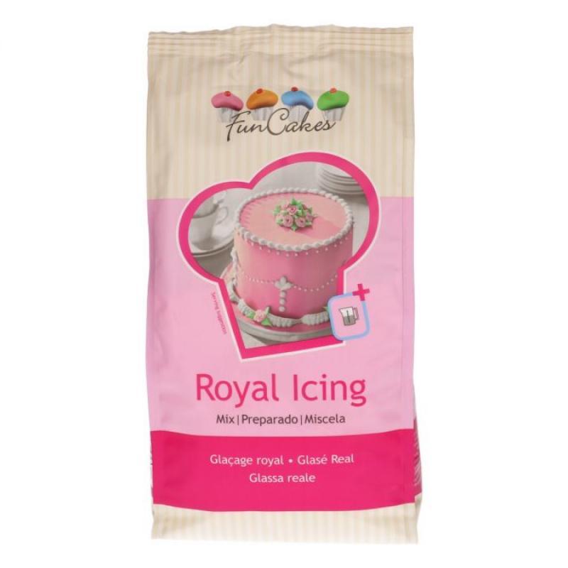 Royal icing, bielková glazúra 450 g