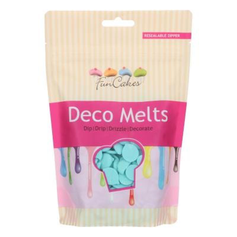 Poleva Deco Melts baby modrá 250 g