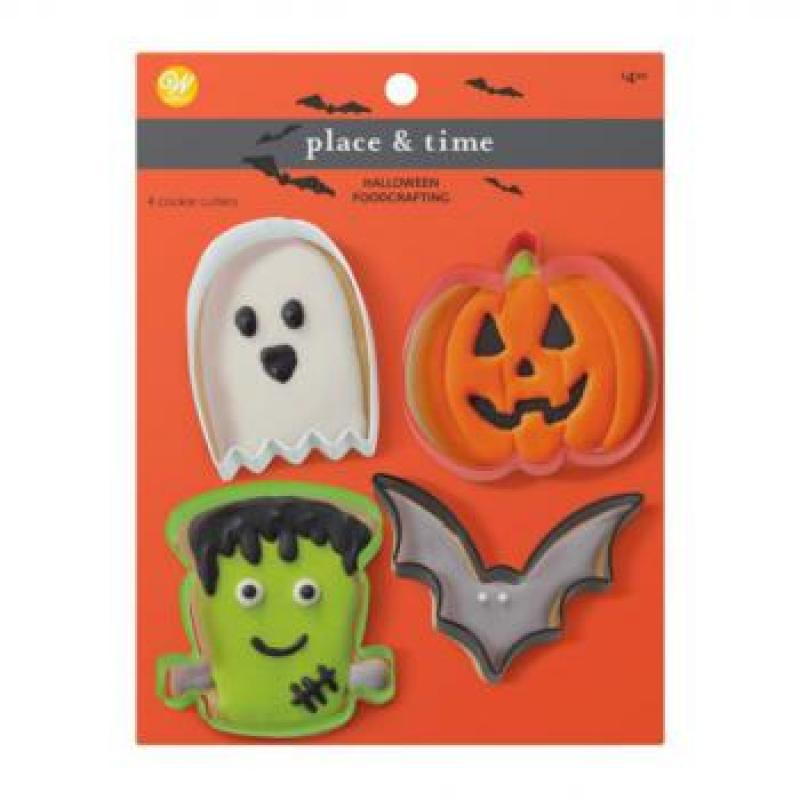 Sada 4 ks vykrajovačov Halloween