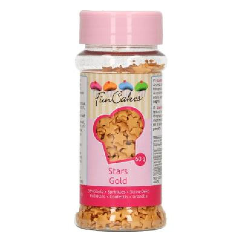 Zdobenie zlaté hviezdičky 60 g